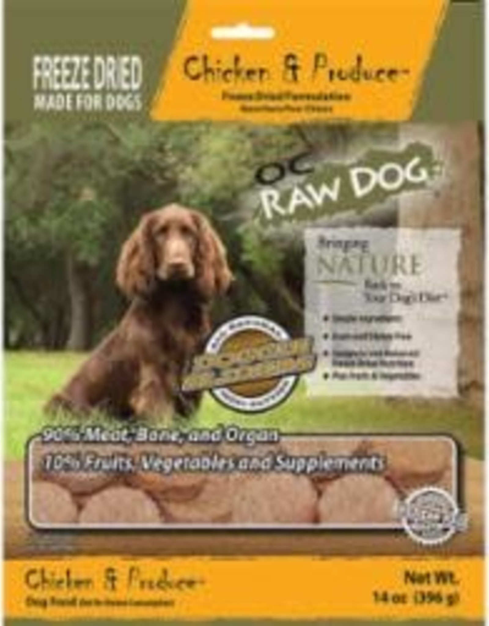 OC Raw Dog OC Raw Dog Freeze Dried Chicken