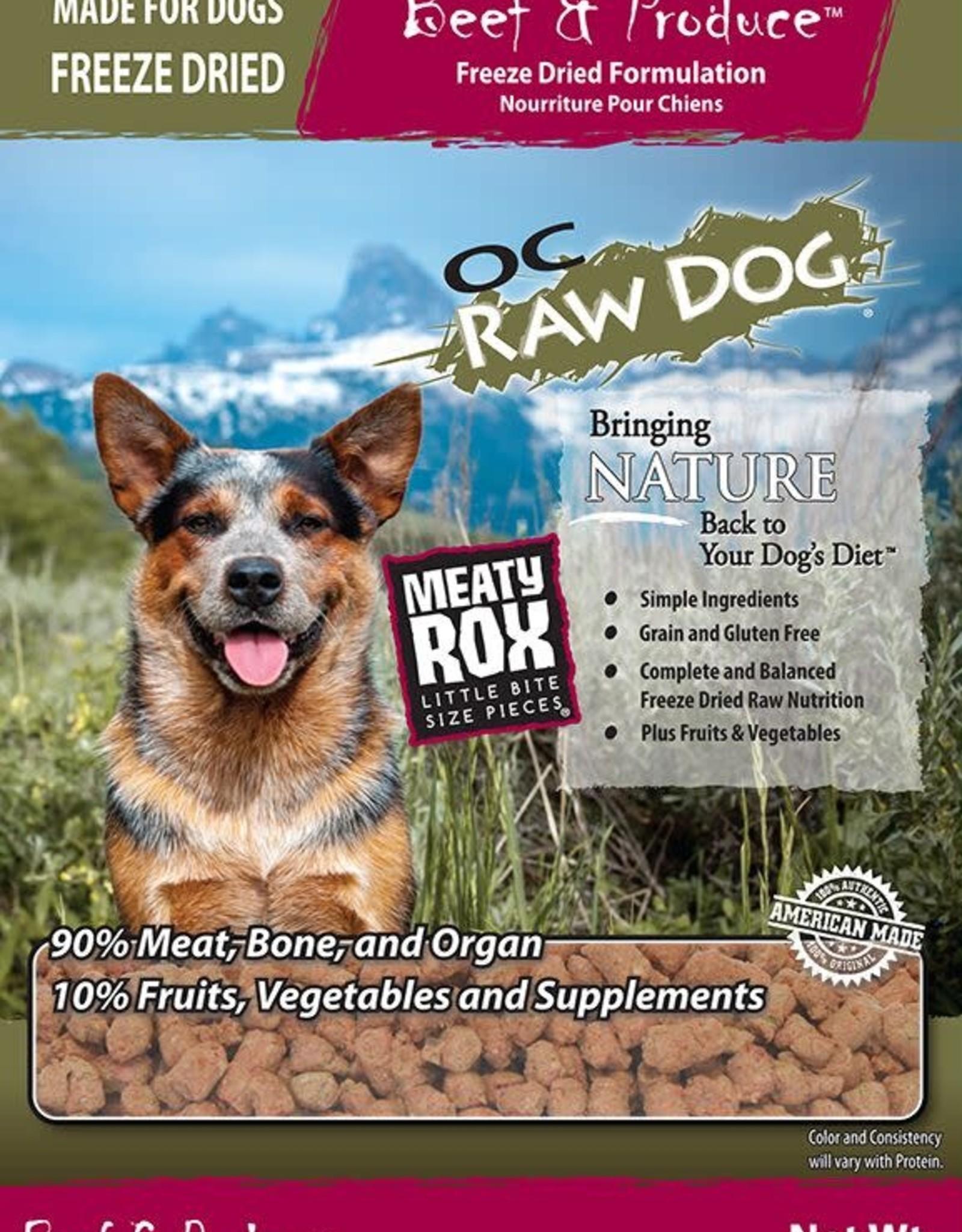 OC Raw Dog OC Raw Dog Freeze Dried Beef