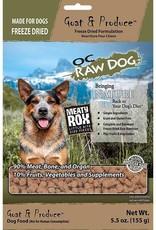 OC Raw Dog OC Raw Dog Freeze Dried Goat