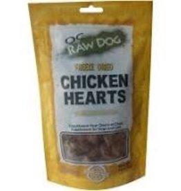 OC Raw Dog OC Raw Dog Chicken Hearts Freeze Dried 4oz