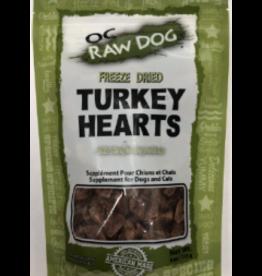OC Raw Dog OC Raw Dog Turkey Hearts Freeze Dried 4oz