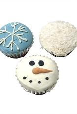 Bubba Rose Bubba Rose - Snowy Mini Cupcakes 2 Pack