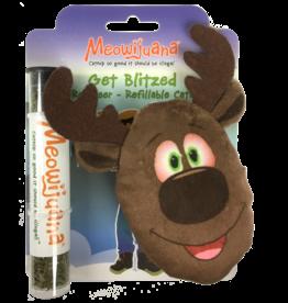 Meowijuana Meowijuana Get Blitzed Refillable Reindeer