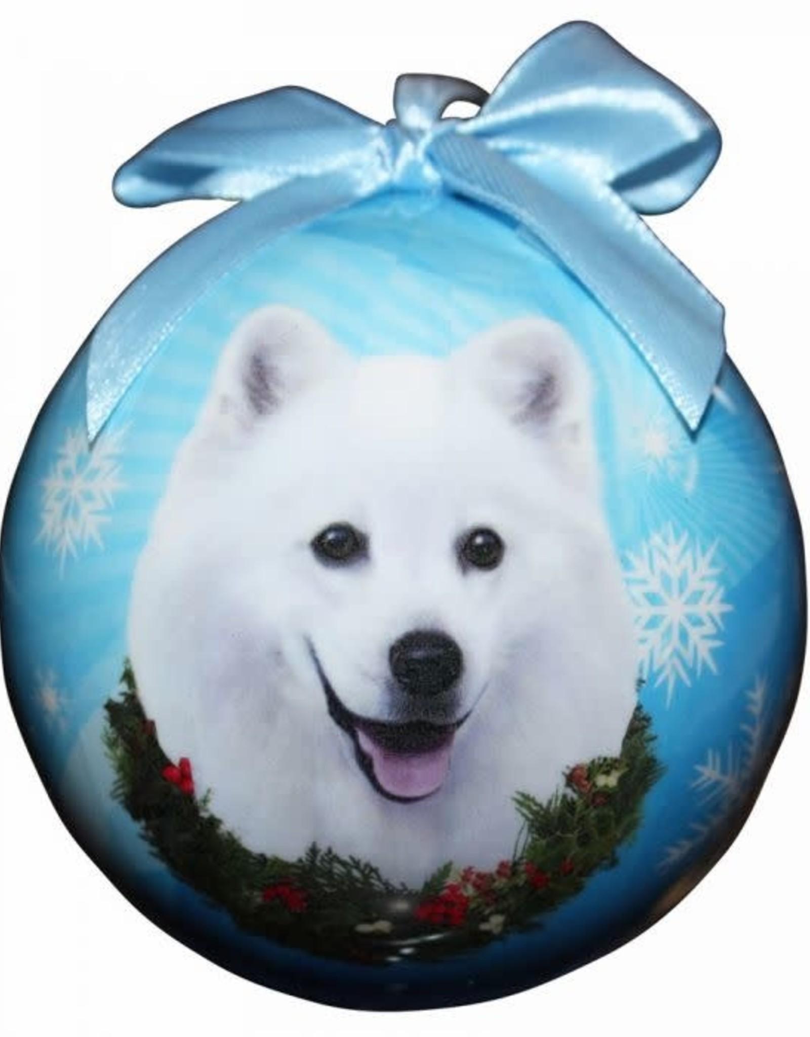 American Eskimo Ornament