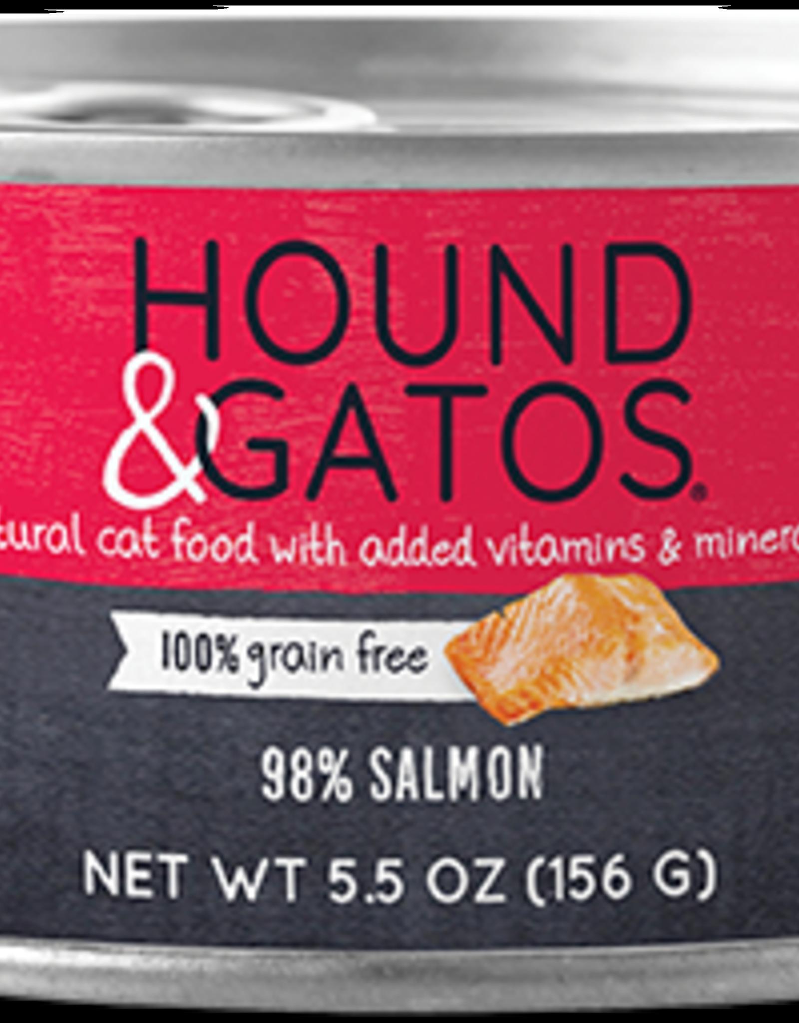 Hound & Gatos Hound & Gatos 98% Salmon Recipe Cat