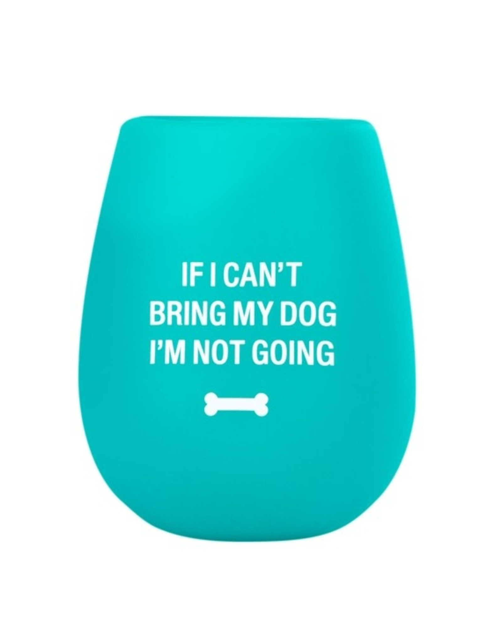 Silicone Wine Cup - Bring My Dog