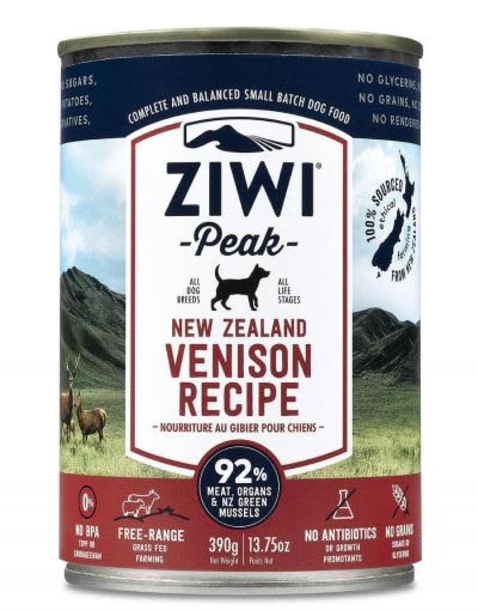ZiwiPeak SALE - ZiwiPeak Venison For Dogs 13.75oz
