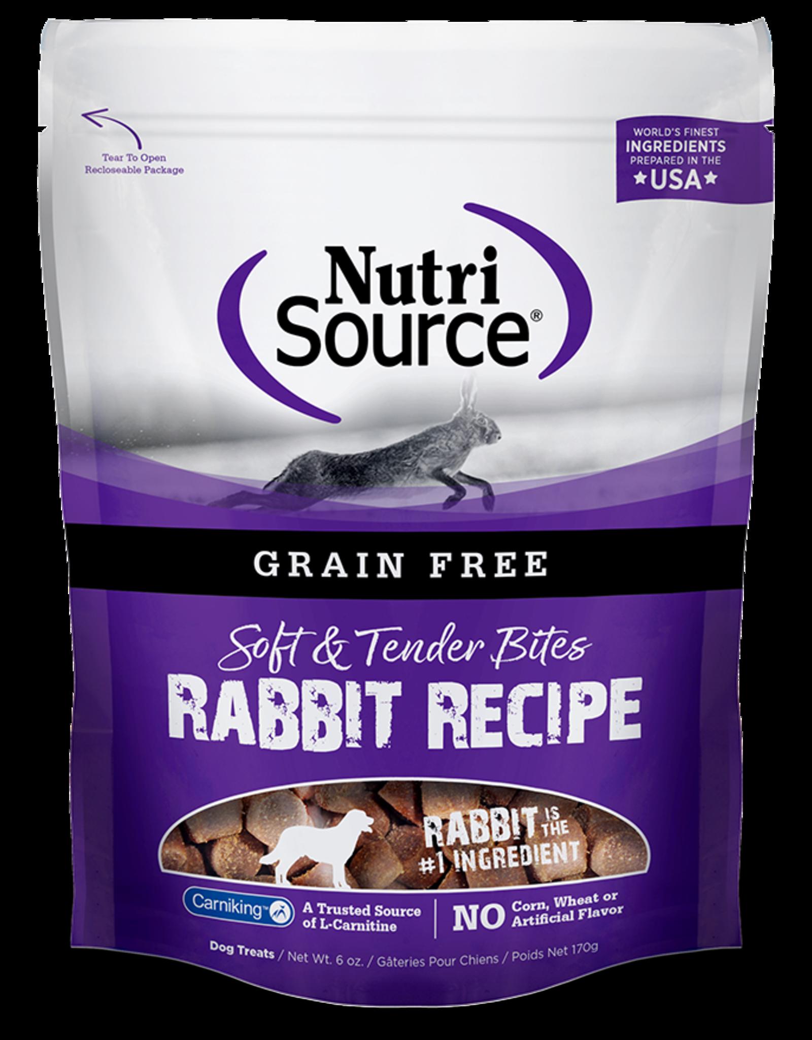 NutriSource Nutrisource Rabbit Bites 6oz
