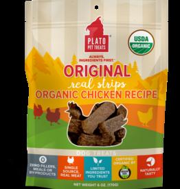 Plato Pet Treats Plato Organic Chicken Strips