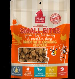 Plato Pet Treats Plato Small Bites - Organic Chicken