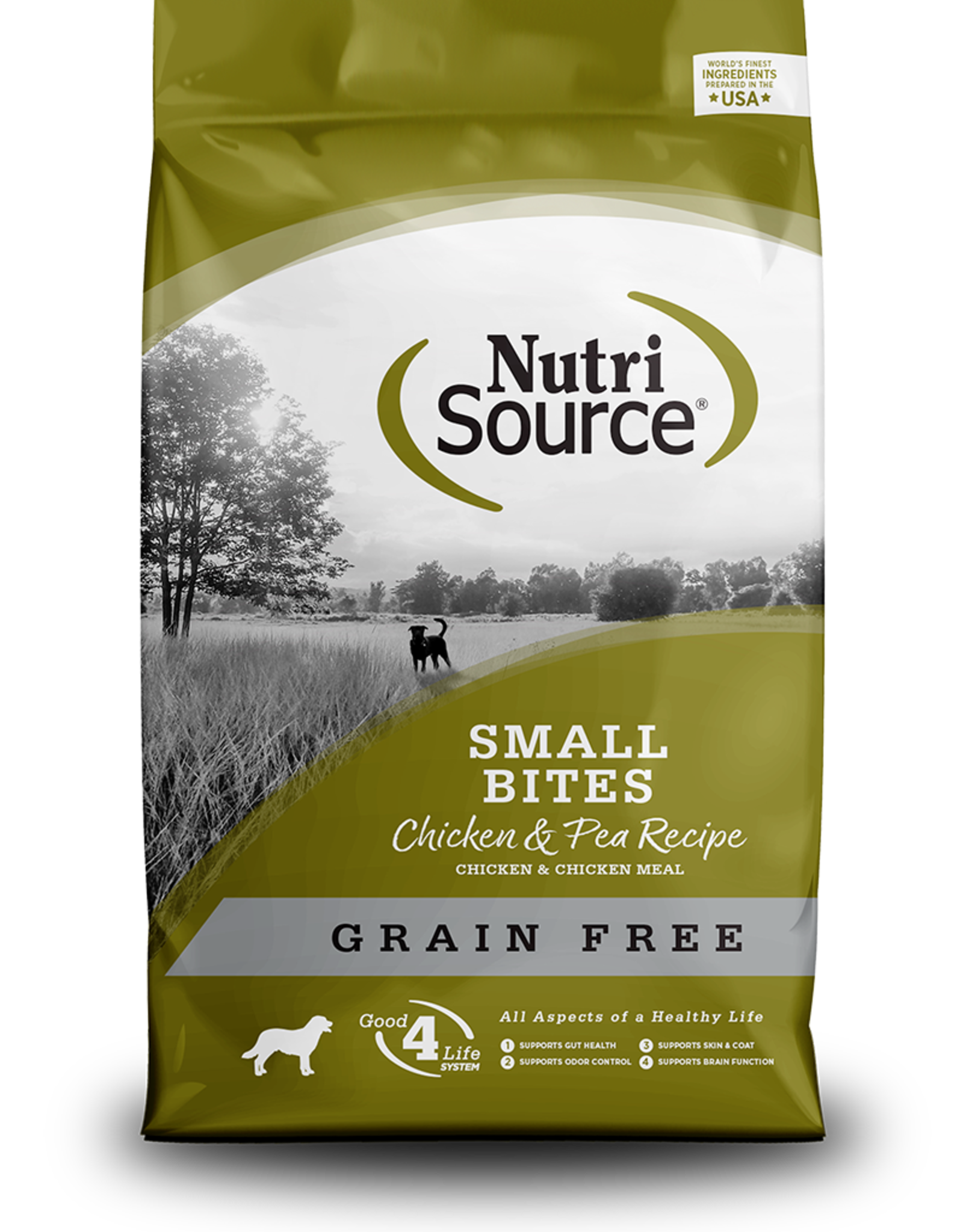 NutriSource NutriSource Grain Free Small Bite Chicken & Pea Formula Dog