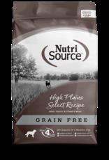 NutriSource NutriSource Grain Free High Plains Select 30lb