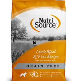 NutriSource NutriSource Grain Free Lamb Meal & Peas Recipe Dog