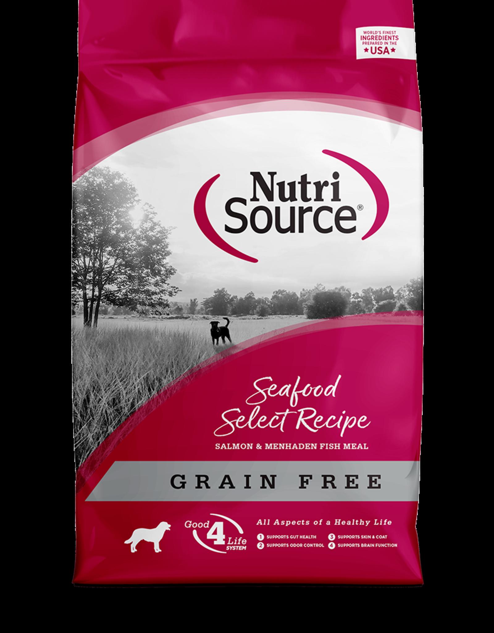 NutriSource NutriSource Grain Free Seafood Select Dog 30lb