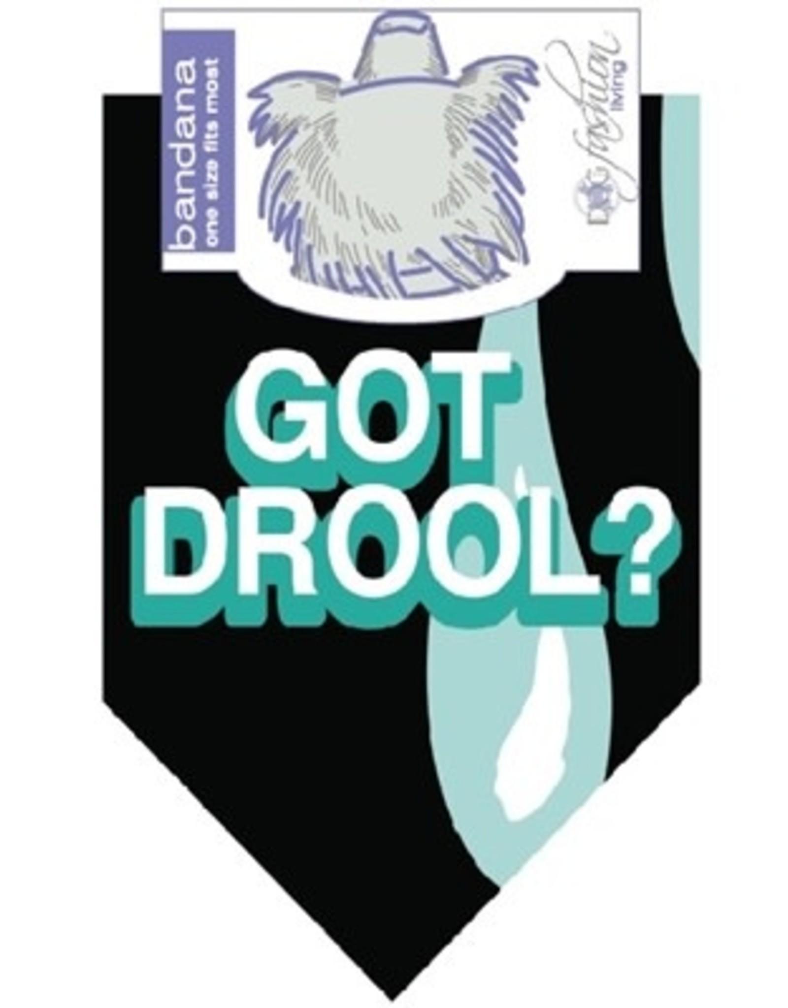 Dog Bandana - Got Drool?