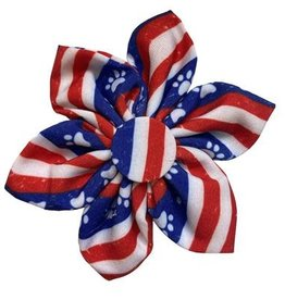 Paws & Stripes Pinwheel Collar Attachment