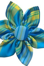 Turquoise Pinwheel Collar Attachment