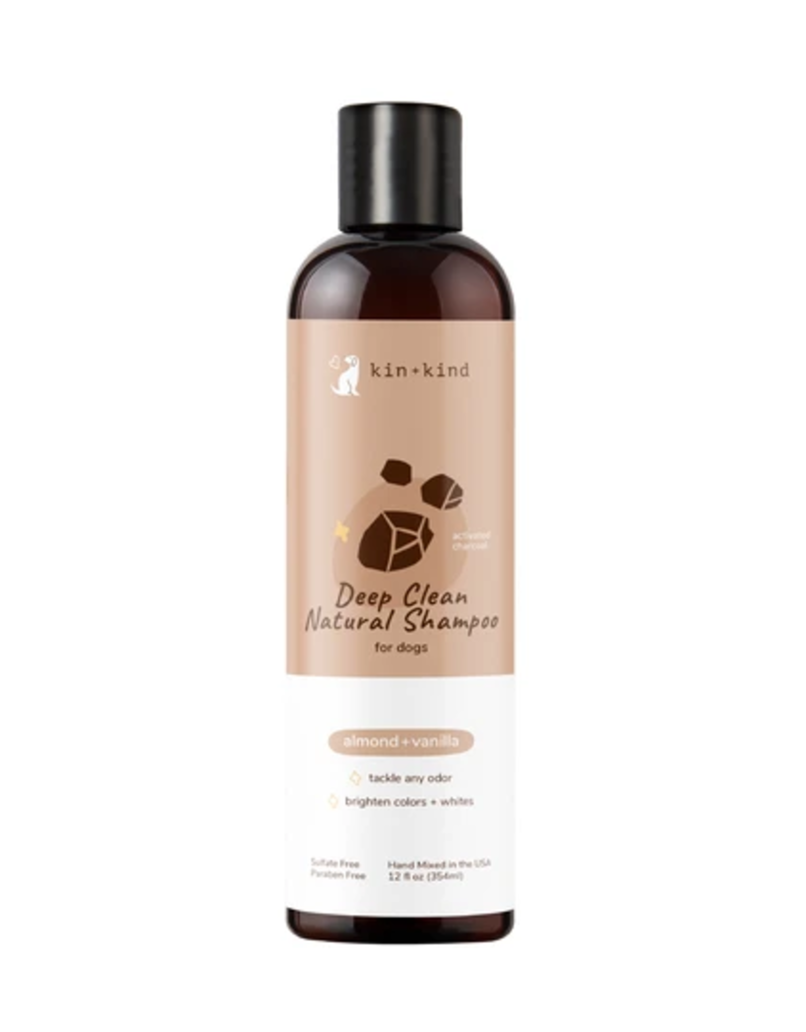 Kin+Kind Kin+Kind Deep Clean Shampoo (Almond+Vanilla) 12oz