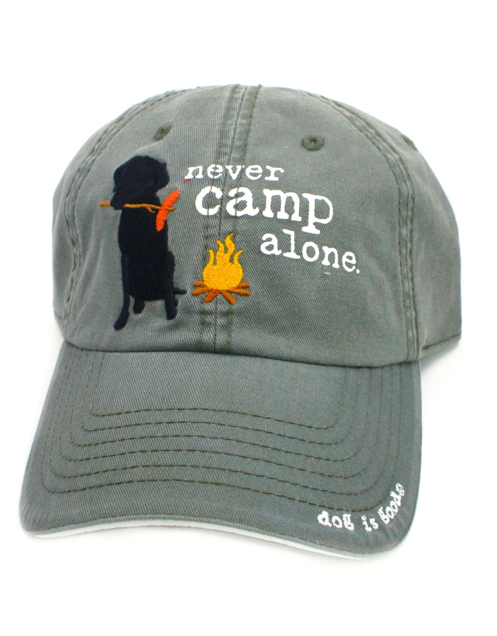 Dog Is Good Dog is Good Never Camp Alone Hat