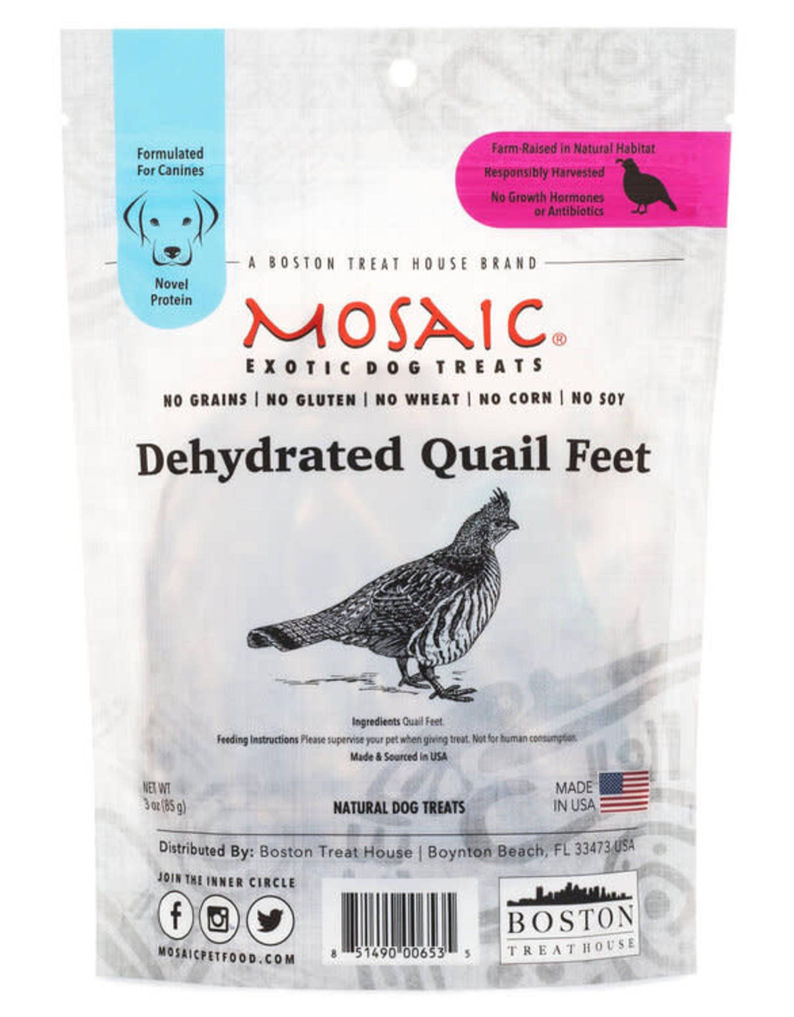 Mosaic Mosaic Dehydrated Quail Feet