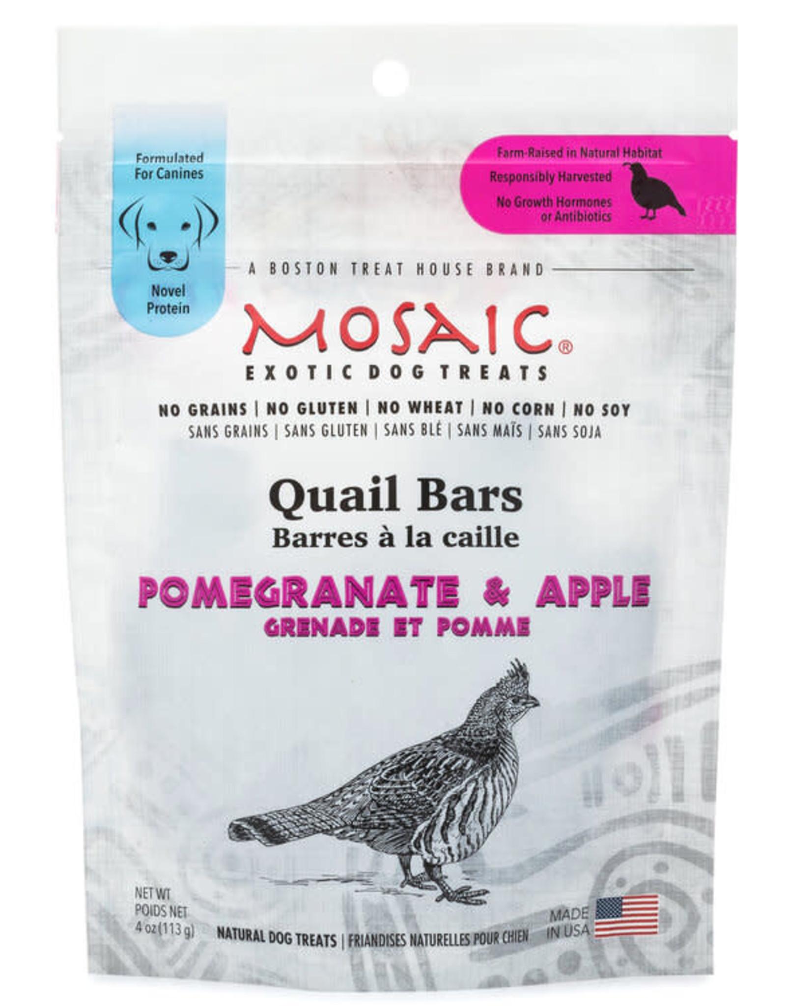 Mosaic Mosaic Quail Bars Pomegranate & Apple