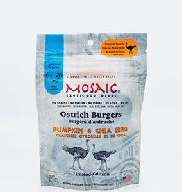 Mosaic Mosaic Ostrich Burgers Pumpkin & Chia Seed