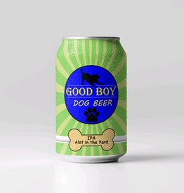 Good Boy Dog Beer Good Boy Dog Beer - IPA lot in the yard