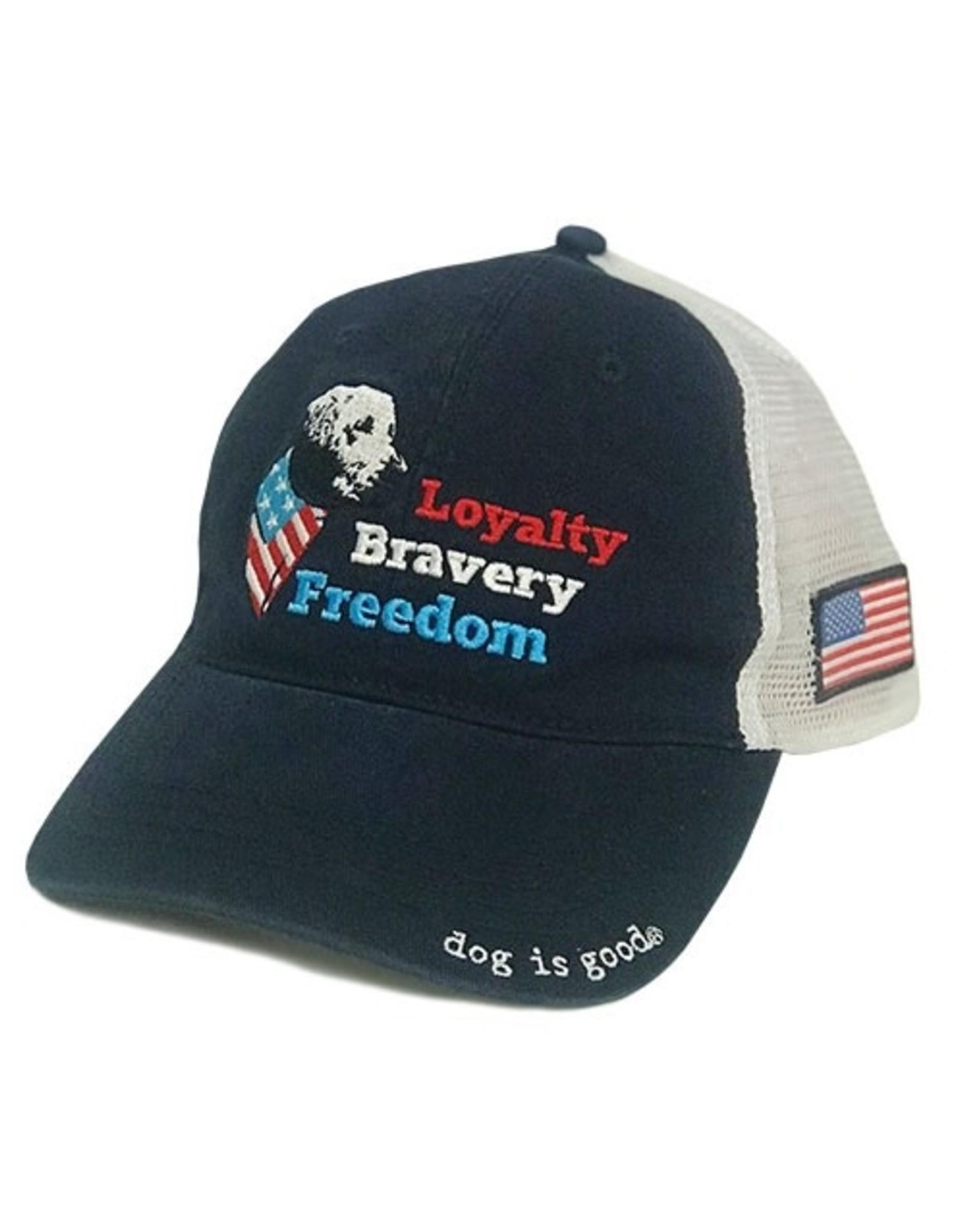 Dog Is Good Dog is Good Freedom Dog Hat