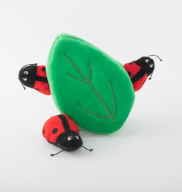 ZippyPaws ZippyPaws Burrow - Ladybug in Leaf