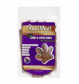 The Real Meat Company Real Meat Lamb Liver Jerky Strip 8oz