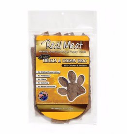 The Real Meat Company Real-Meat-Chicken-Venison-Jerky-Strip-8oz