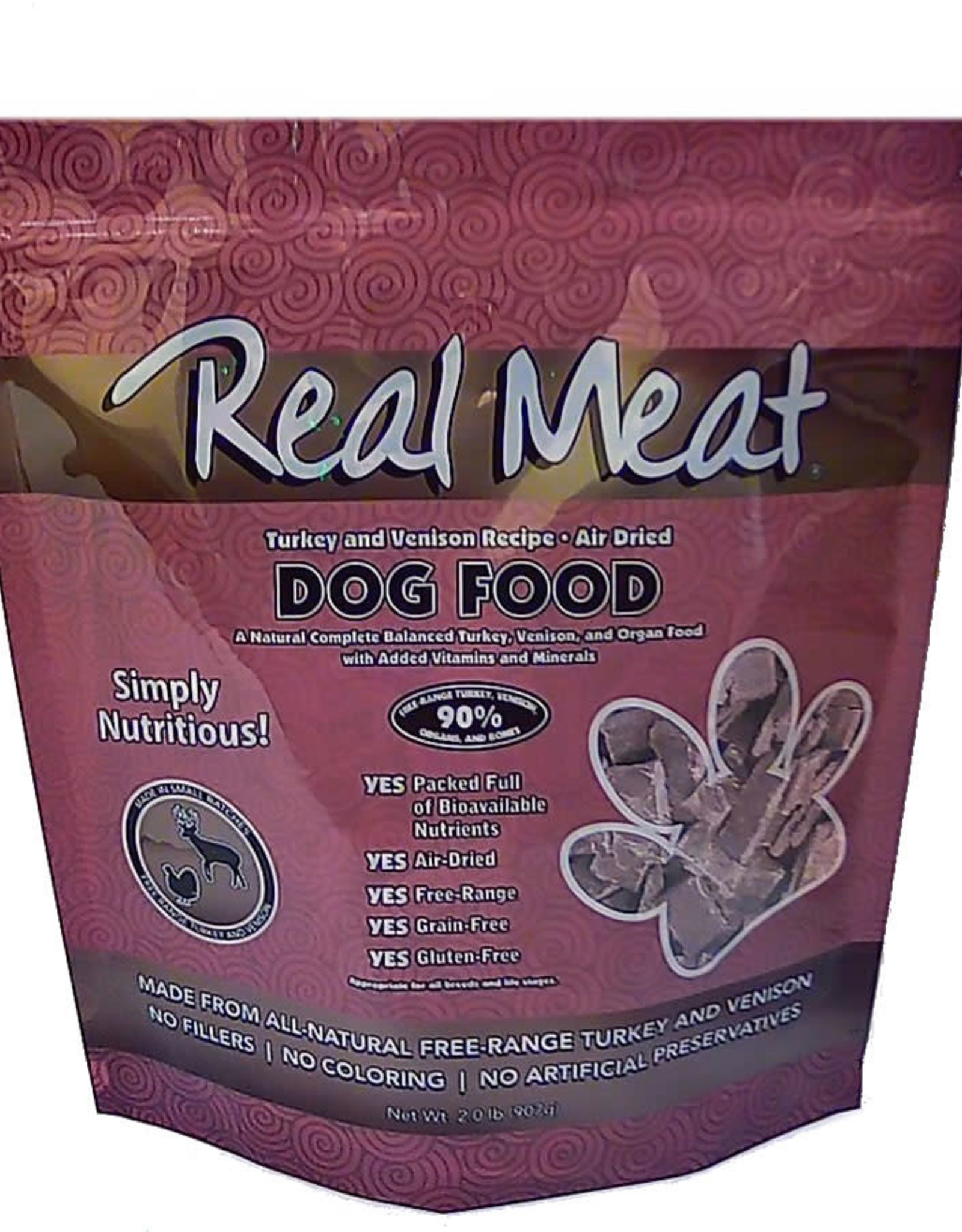 The Real Meat Company Real Meat Turkey & Venison Air Dried Food