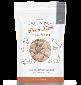 Green Juju Green JuJu Bison Liver Trainers 3oz