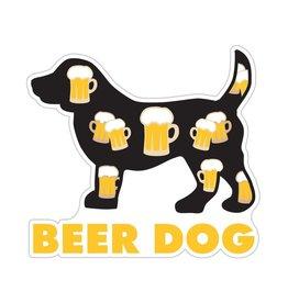 """Dog Speak 3"""" Decal Beer Dog"""
