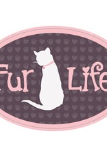 """Dog Speak 3"""" Decal Fur Life (Cat)"""