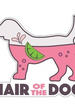 "Dog Speak 3"" Decal Hair of the Dog"