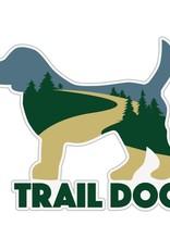 "Dog Speak 3"" Decal Trail Dog"