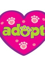 "Dog Speak 3"" Decal Adopt"