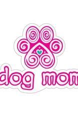 """Dog Speak 3"""" Decal Dog Mom"""