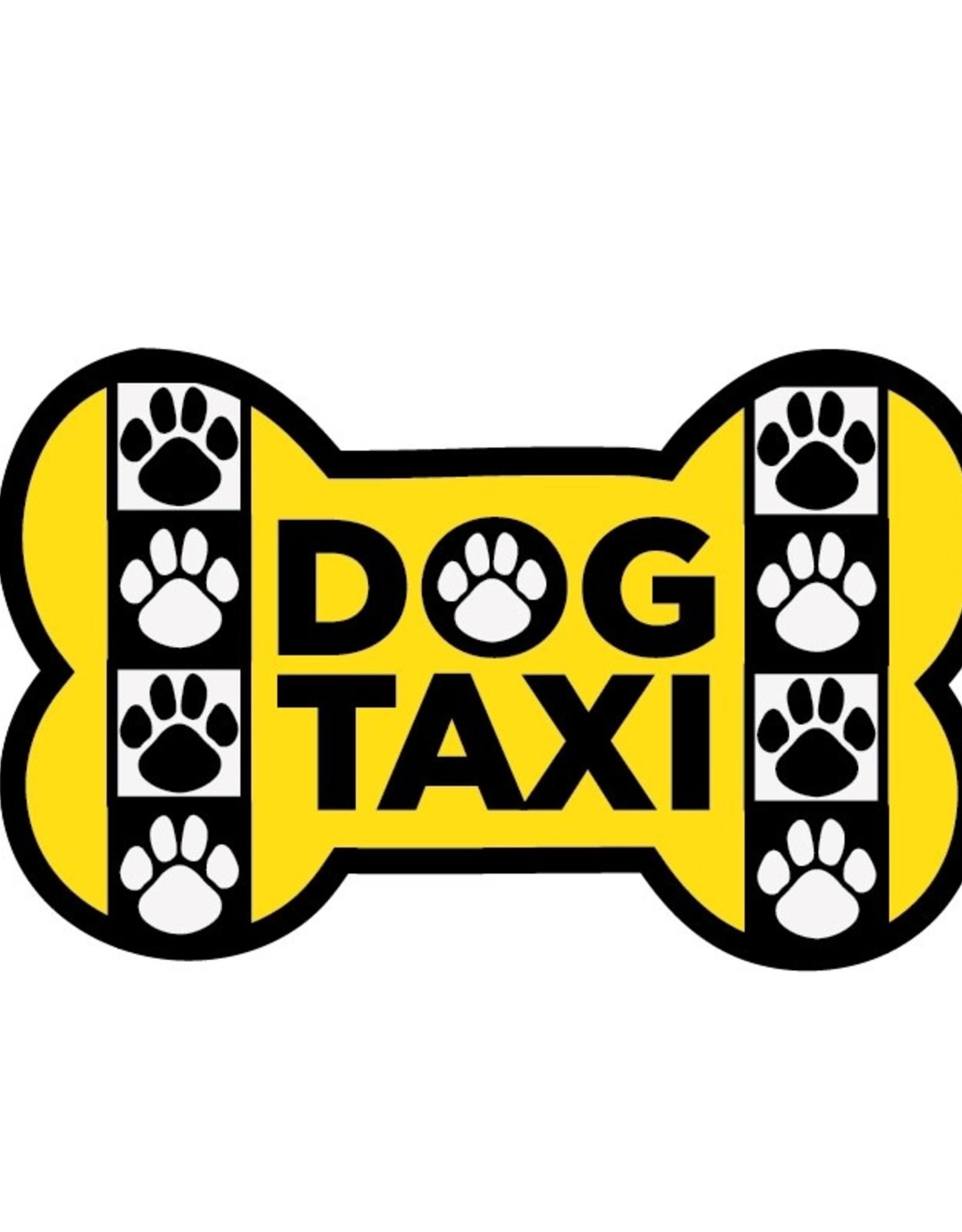 "Dog Speak 3"" Decal Dog Taxi"