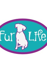 "Dog Speak 3"" Decal Fur Life (Dog)"