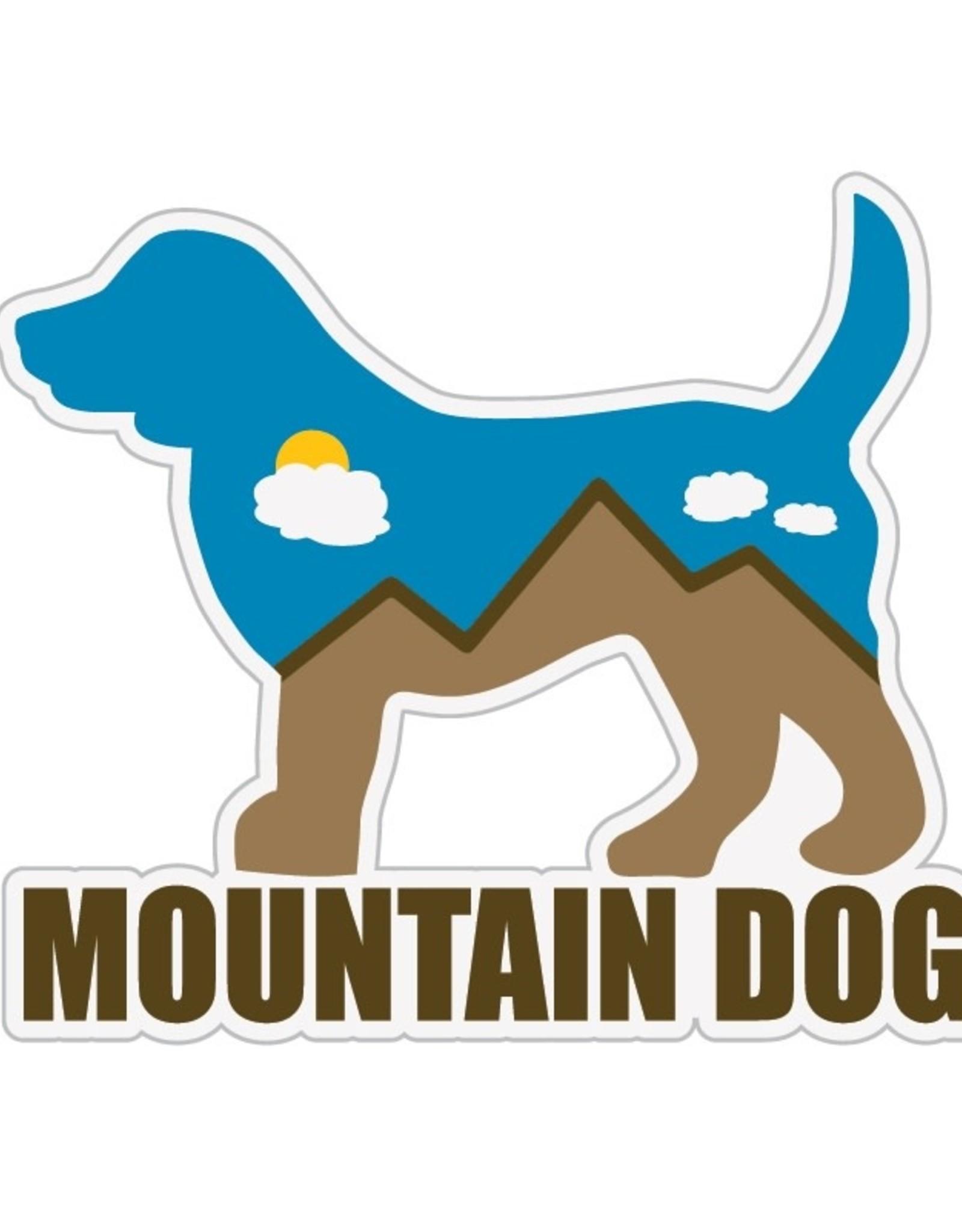 "Dog Speak 3"" Decal Mountain Dog"
