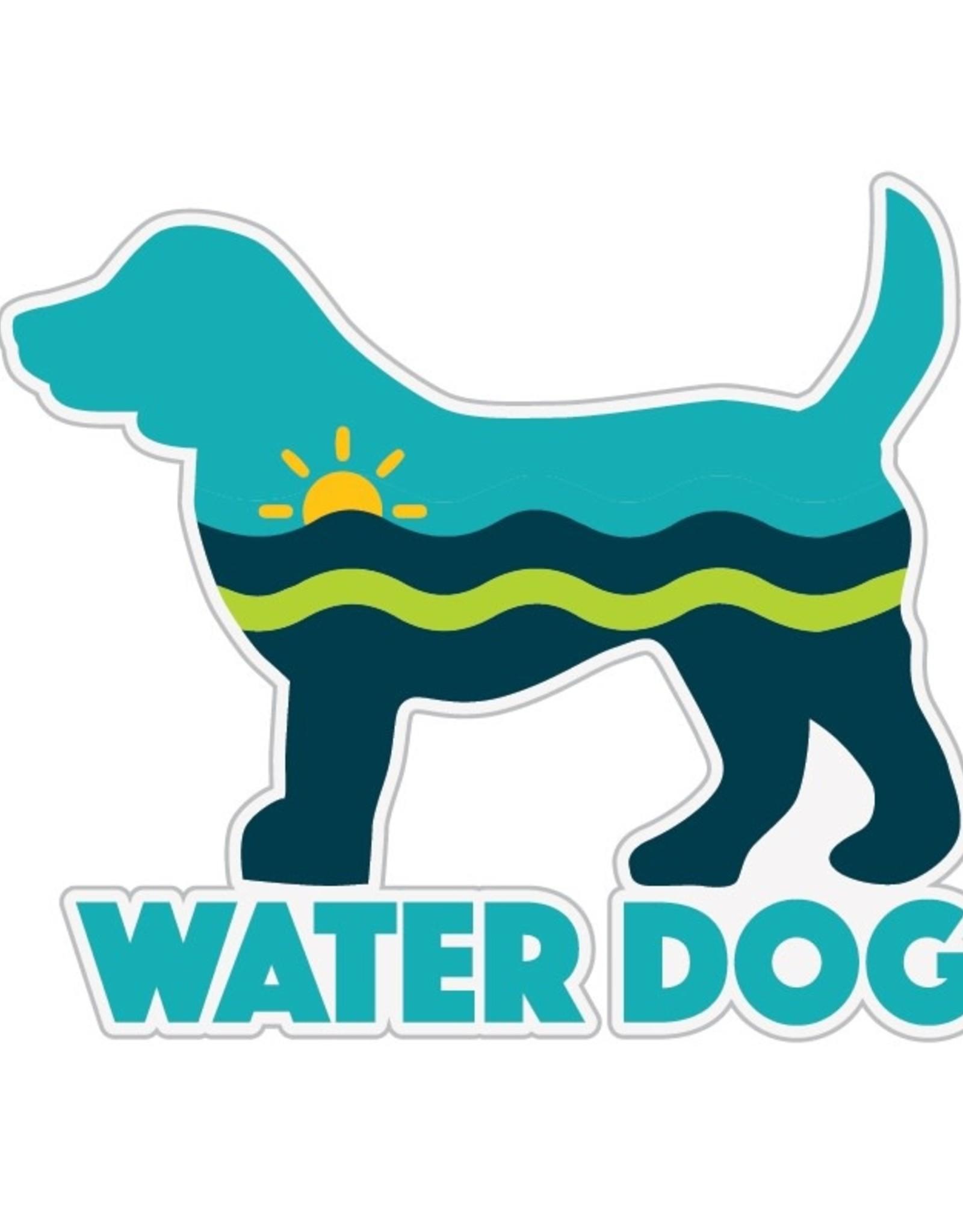 """Dog Speak 3"""" Decal Water Dog"""