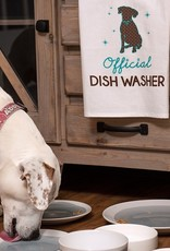 Kitchen Tea Towel - Official Dish Washer