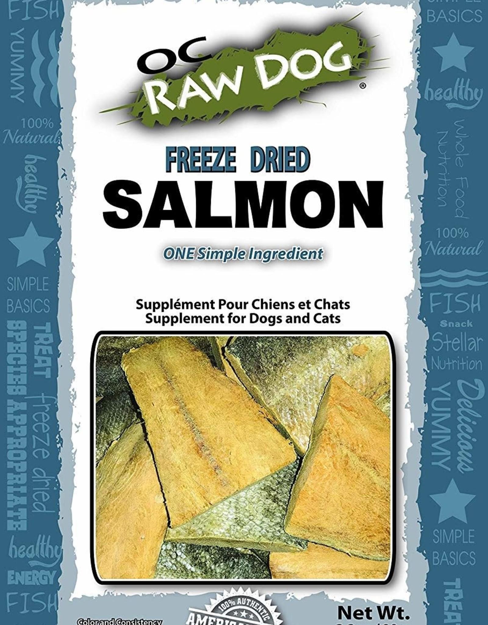 OC Raw Dog OC Raw Dog Salmon Freeze Dried 3.2oz