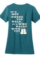 Dog Is Good Dog Is Good Never Walk Alone T-Shirt Women