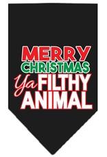 Merry Christmas Ya Filthy Animal Bandana