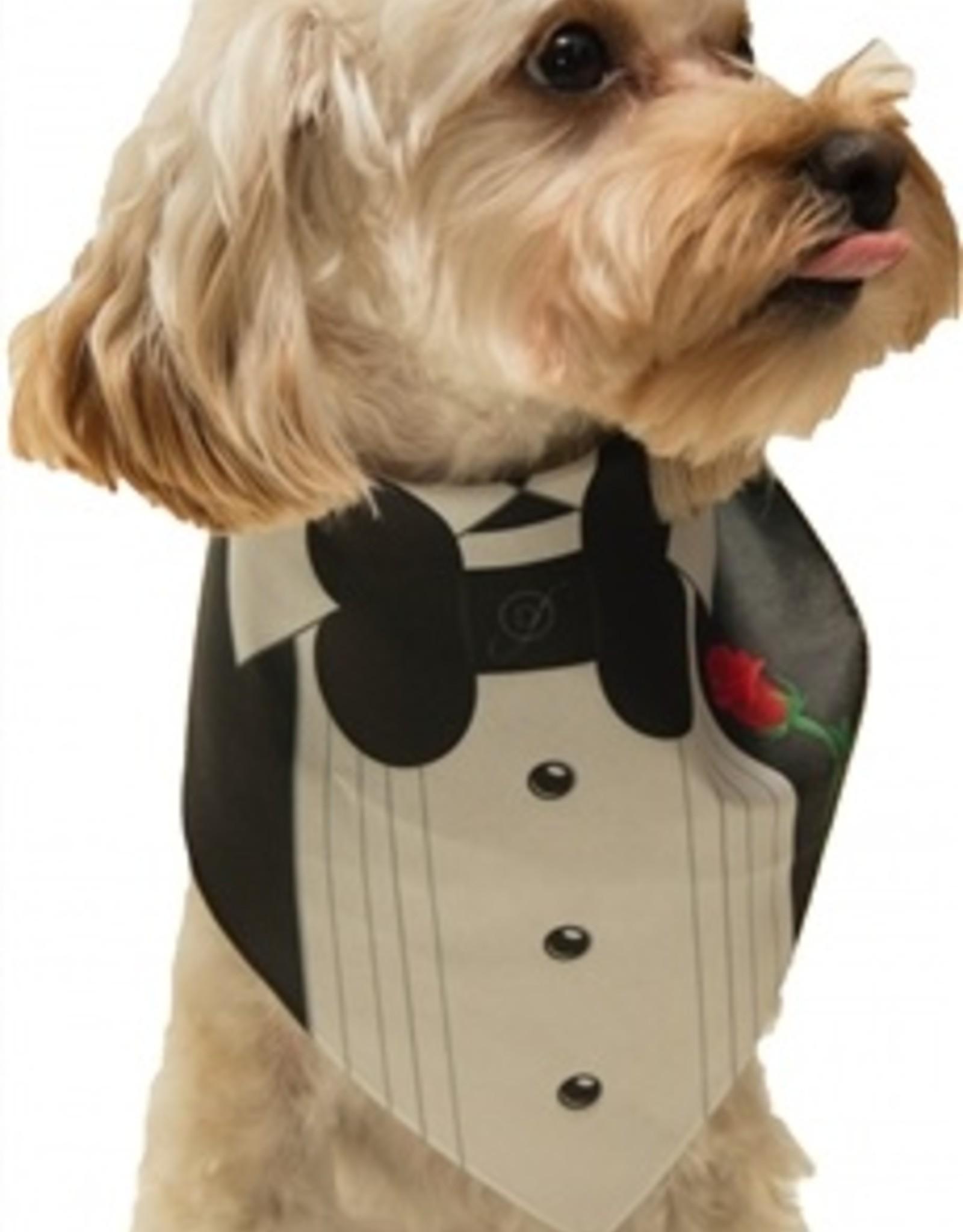 Dog Bandana - Tuxedo