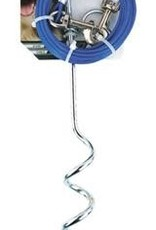 Pet Zone Spiral Tie Out Cable/Stake