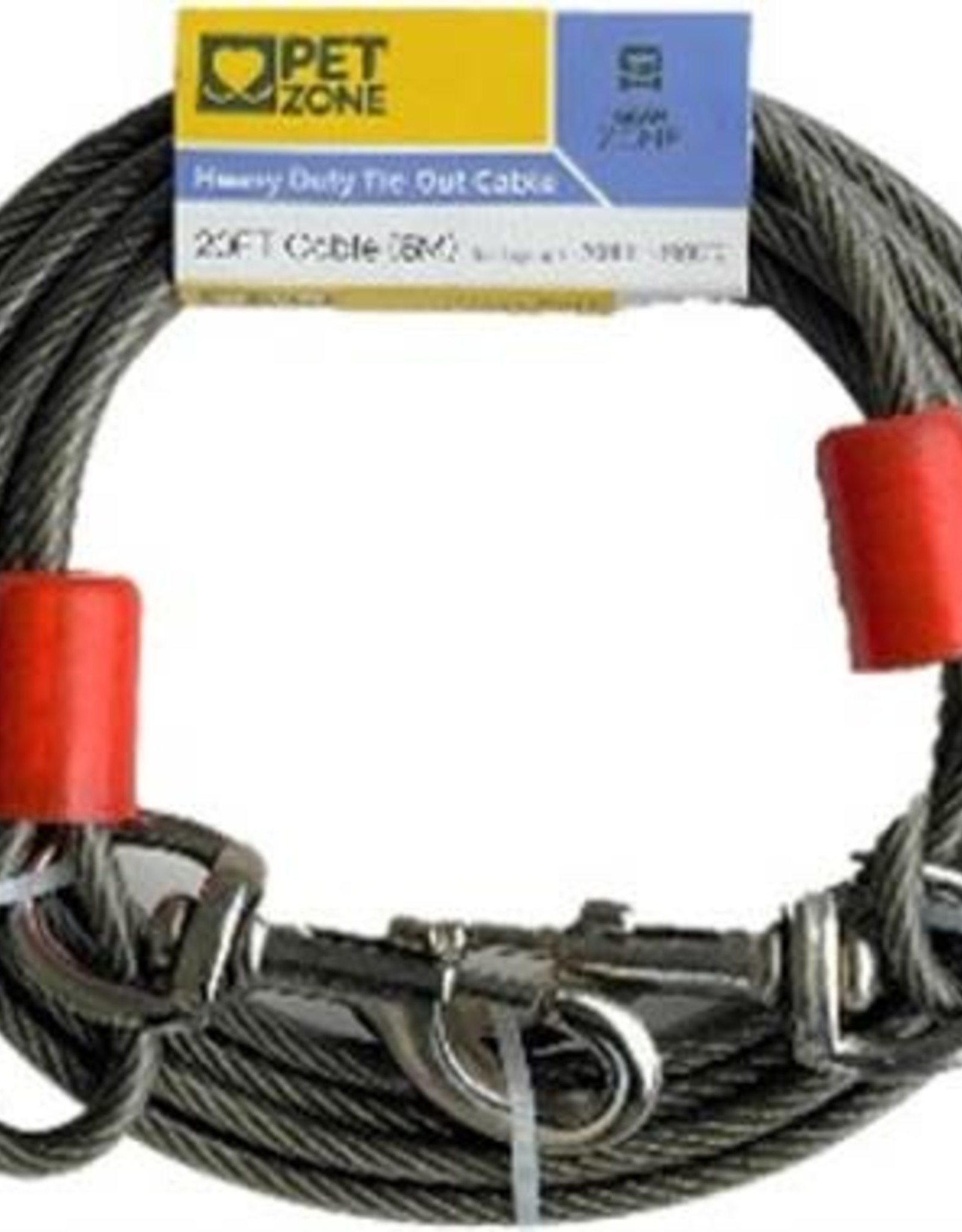 Pet Zone 20 FT Heavy Duty Tie Out Cable